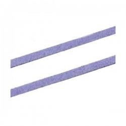 Cordón antelina 3 mm lila...