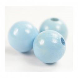 Bolas de madera 12 mm azul...