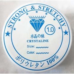 Hilo elástico silicona 1 mm...
