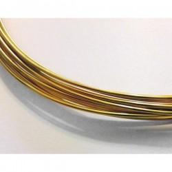 Hilo aluminio 1,5 mm dorado...