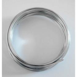 Hilo aluminio 2 mm plateado...