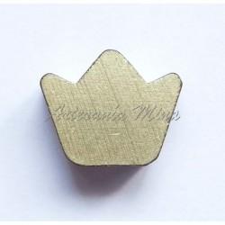 Corona de madera 21 x 16 mm...