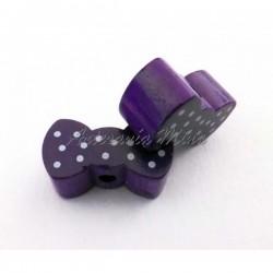 Lacito de madera púrpura...