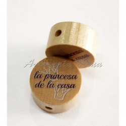 Círculo 20 mm madera...