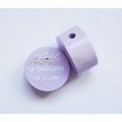 Círculo 20 mm madera lila...