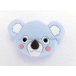 Cabeza de koala de silicona...