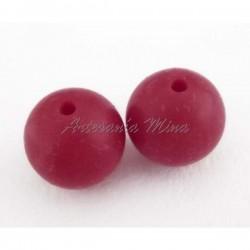 Bola de silicona 15 mm rojo...
