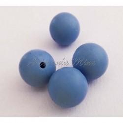 Bola de silicona 15 mm azul...