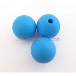 Bola de silicona 12 mm azul