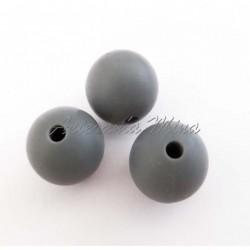 Bola de silicona 12 mm gris