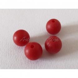 Bola de silicona 12 mm rojo...