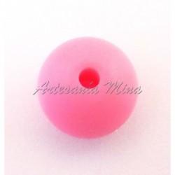 Lenteja de silicona 12 mm rosa