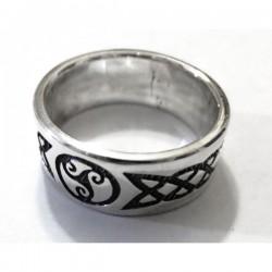 Anillo tribal Plata .950