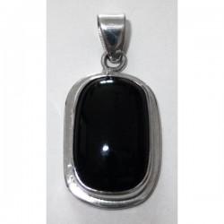 Colgante resina negro