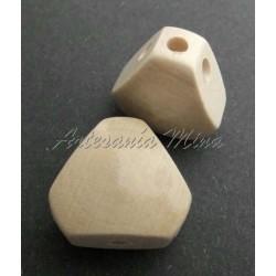 Cuerpo de madera triangular...