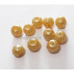Perla acrílica 4 mm Oro