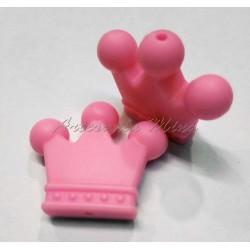 Corona de Silicona rosa 35...
