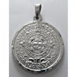 Calendario Azteca brillo