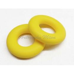 Aro de silicona 43 mm amarillo