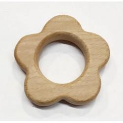 Flor de madera sin lacar 58...