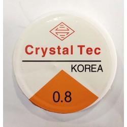 Hilo elástico silicona 0,8...