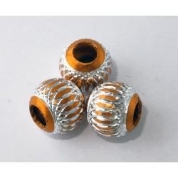 Bola aluminio 10 mm naranja...