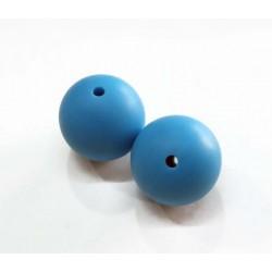 Bola de silicona 19 mm azul