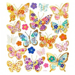 STICKERS mariposas, 21...
