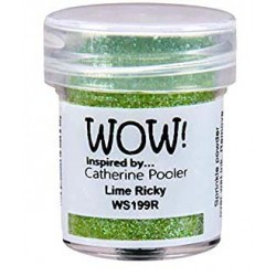 Polvo embossing WOW Lime...