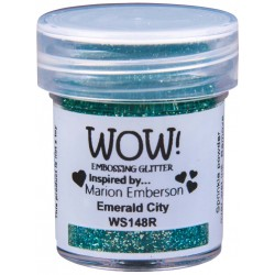 Polvo embossing WOW Emerald...