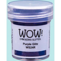 Polvo embossing WOW Purple...