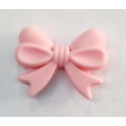 Lazo de silicona rosa claro...