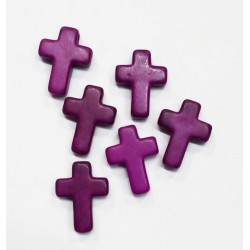 Colgante cruz pasta de...