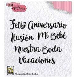 "Set sellos ""Spanish Wishes""..."
