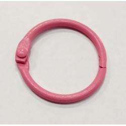 Anilla metal esmaltado rosa...