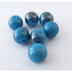 Bola acrílico 10 mm. azul...