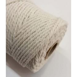 Cordón macramé algodón...