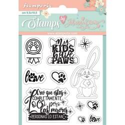 Set sellos Locos Stamperia...