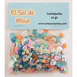Lentejuelas mix El Sol de...