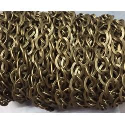 Cadena metal color bronce...