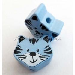 Tigre/gato de madera 18 x...