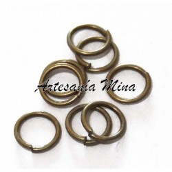 Anilla 6 mm. bronce antiguo...