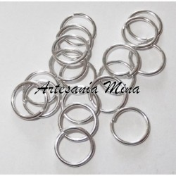 Anilla 6 mm plateada (20...