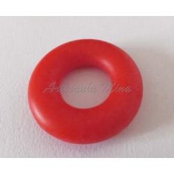 Aro silicona 43 mm rojo cereza