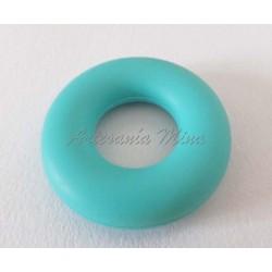 Aro silicona 43 mm turquesa