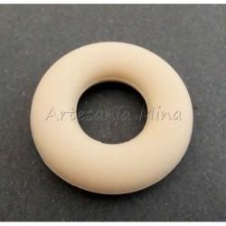 Aro de silicona 43 mm beige