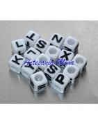 Cubos letras acrílicas