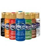 Pintura acrílica Americana/Otras marcas